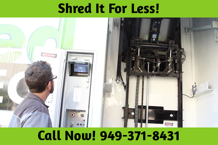 Industrial Paper Shredding Services